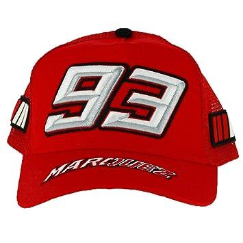 Marc Marquez 93 Moto GP Niños Trucker Rojo Baseball Gorra Oficial 2018