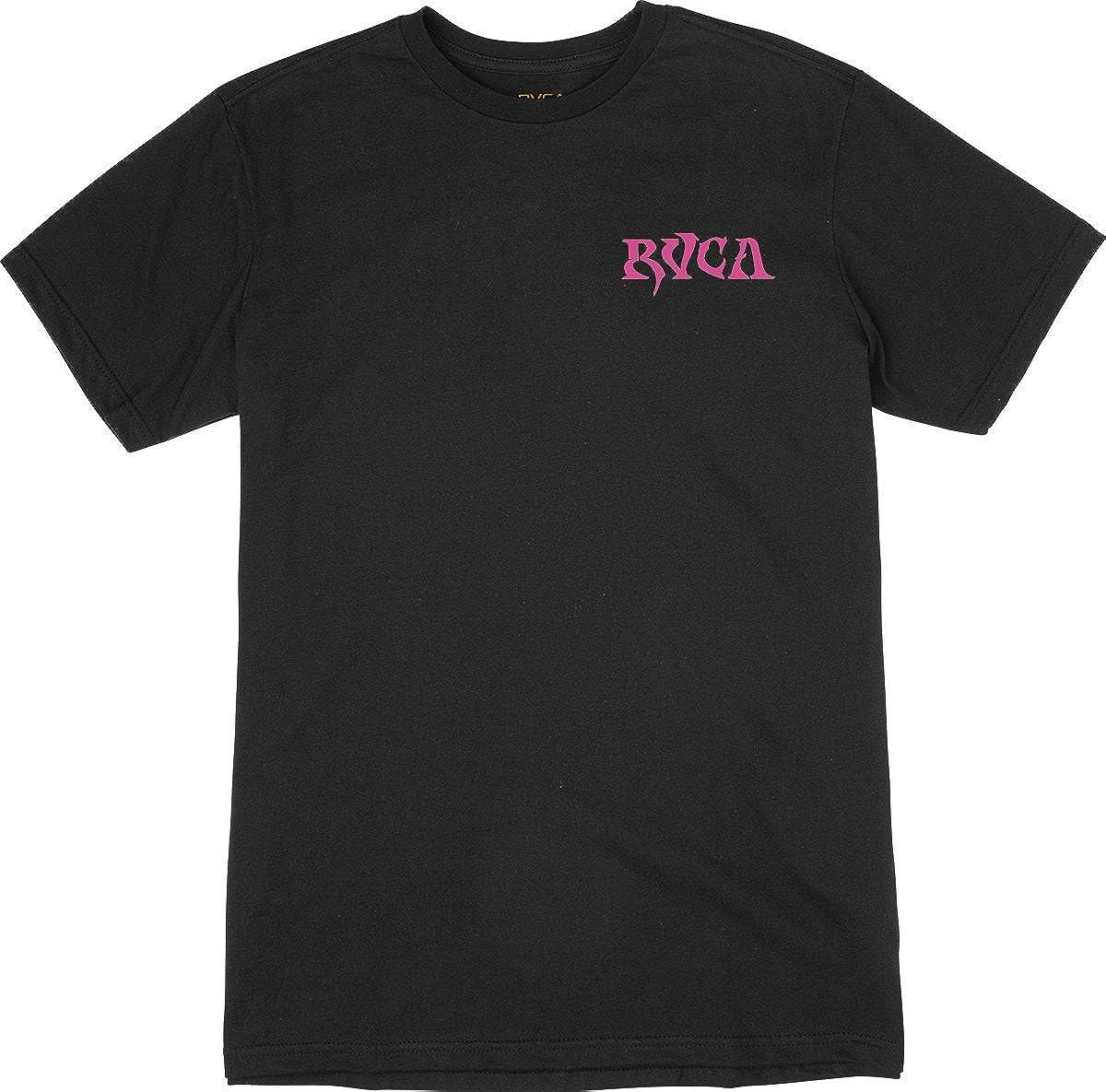 Short Sleeve T-Shirt RVCA Mens Dmote O.e