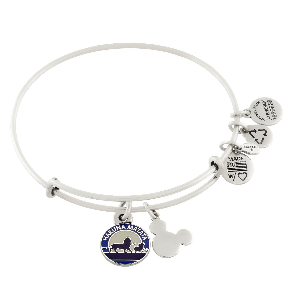 Disney Hakuna Matata Silver Bracelet Image 1