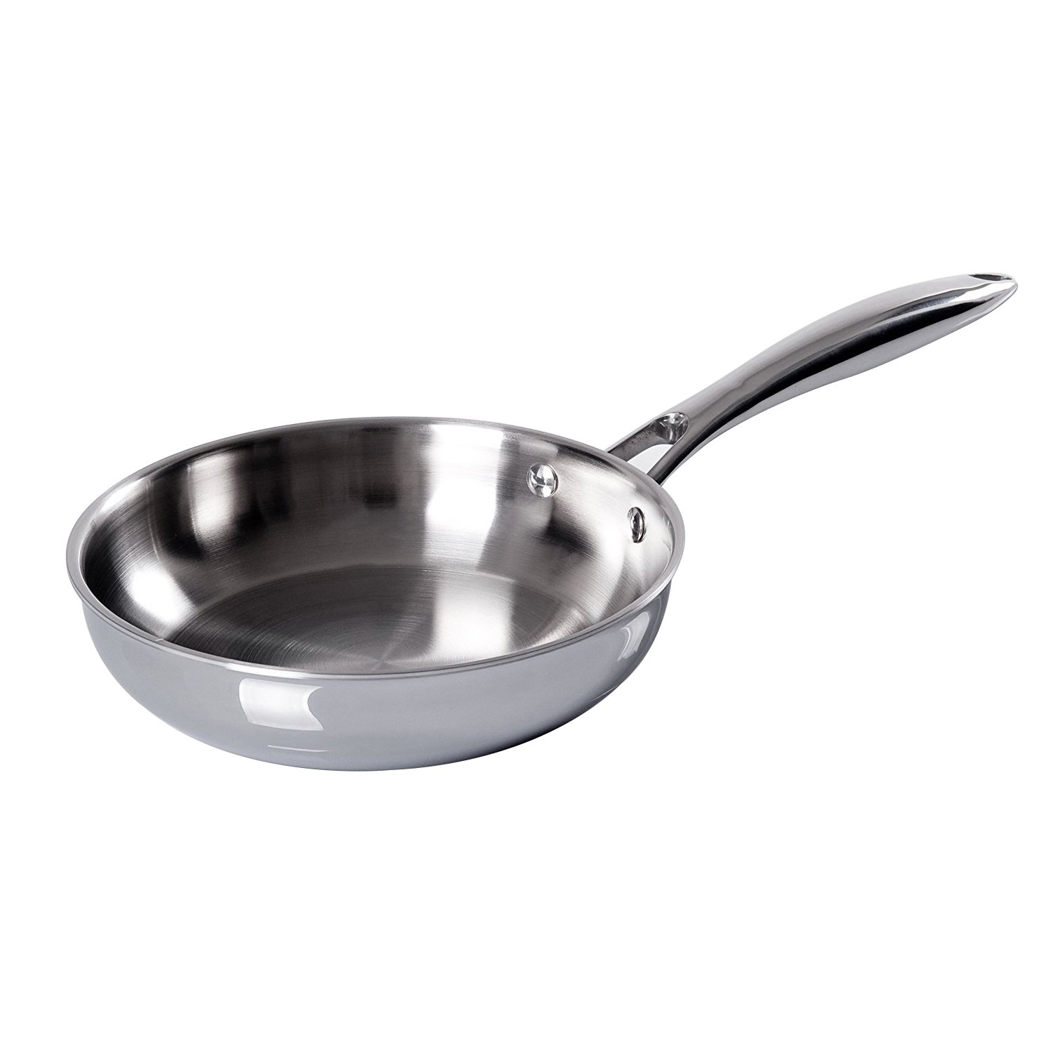 Duxtop Professional Stainless-steel Induction Ready Cookware Impact-bonded Technology (8'' Fry Pan)