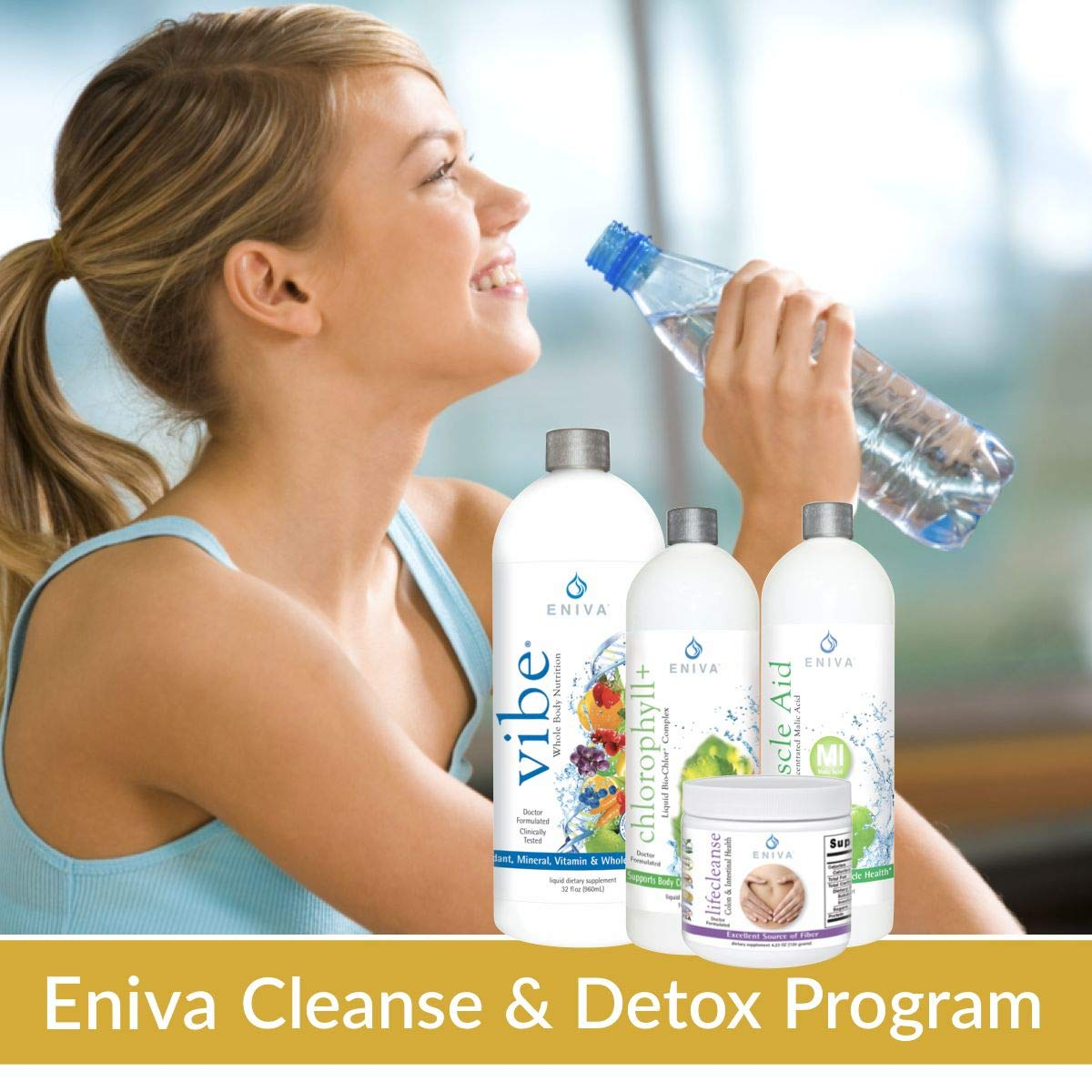 Detox and Cleanse 7 Day NO Dieting Kit for Weight Loss, Belly Fat, Liver, Colon   All Natural. Non Fasting. Complete Kit (with Packets). Voted Best 2018. Eniva Health by Eniva Health (Image #8)