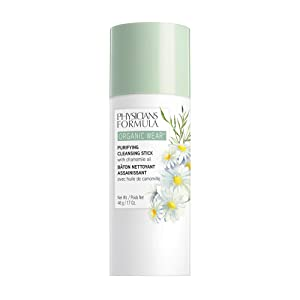 Physicians Formula Organic Wear Purifying Cleansing Stick, Cleanse, 1.7 Ounce