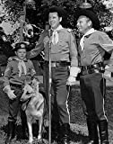 An 8 x 10 Photo Framed Rin_Tin_Tin_Main_Cast_1956