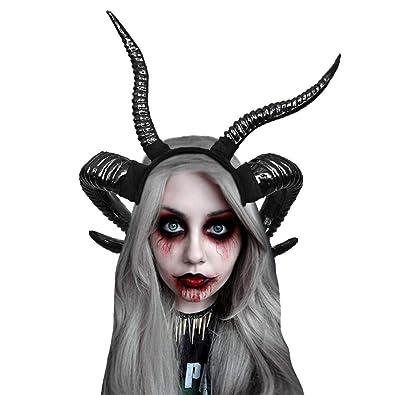 Diadema de cuerno del diablo, bandas de lolita góticas del diablo ...