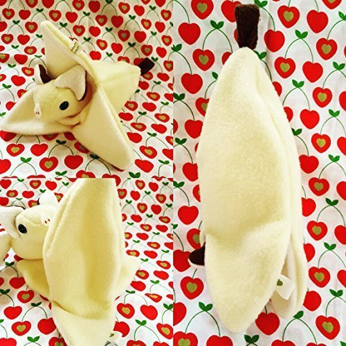 Banana peel toy ONLY, plushie sleeping bag for FruitBats PEEL ONLY