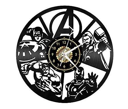 Serie de películas Warrior Male Vinyl Record Reloj de pared ...