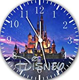 "Best IkEA clock - Disney Castle Wall Clock 10""Nice Gift Wall Decor Review"