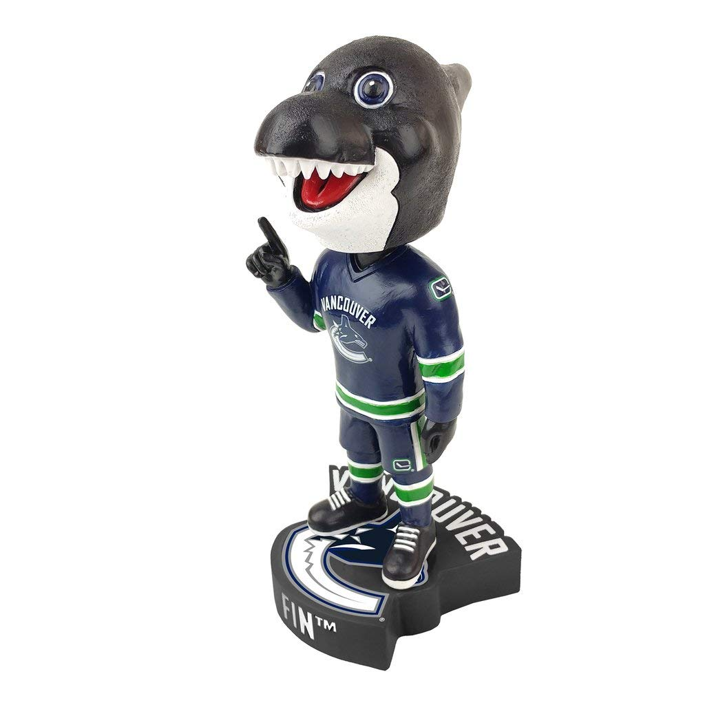 KOLLECTICO Vancouver Canucks FIN Mascot BOBBLEHEAD