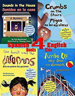 4 Spanish English Books For Kids With English Spanish Pronunciation