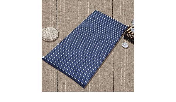 ... de Estudiantes Esponja Cama alfombras, Espesado Colchón Protector de colchón Respirable Sleeping Pad Colchón Espuma-D 150x200x5cm: Amazon.es: Hogar