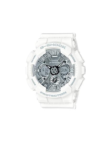 CASIO Reloj Analógico-Digital para Hombre de Cuarzo con Correa en Plástico GMA-S120MF-7A1ER: Amazon.es: Relojes