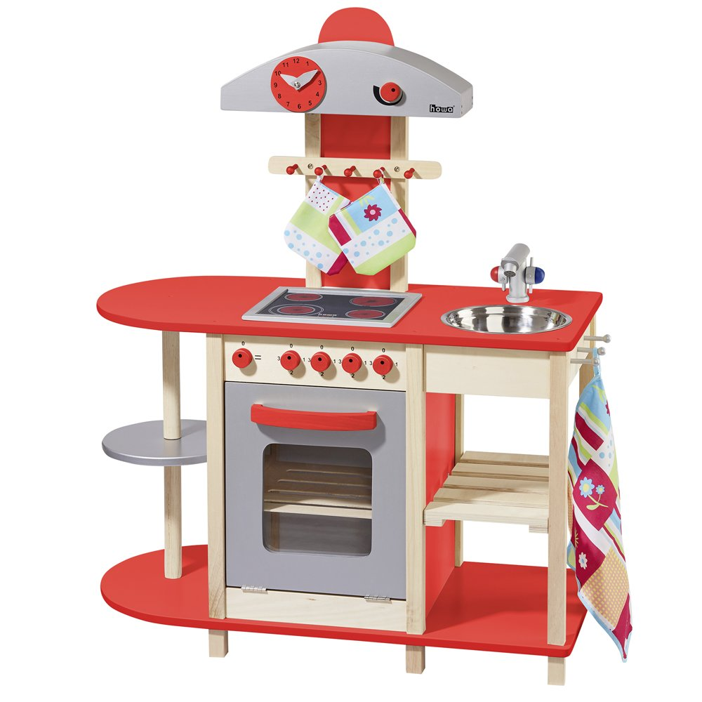 Amazon.com: Howa – Cocina de juguete de madera: Toys & Games