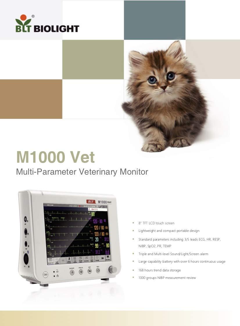BLT M1000Vet Veterinary Multi Parameter Monitors by M1000 (Image #1)