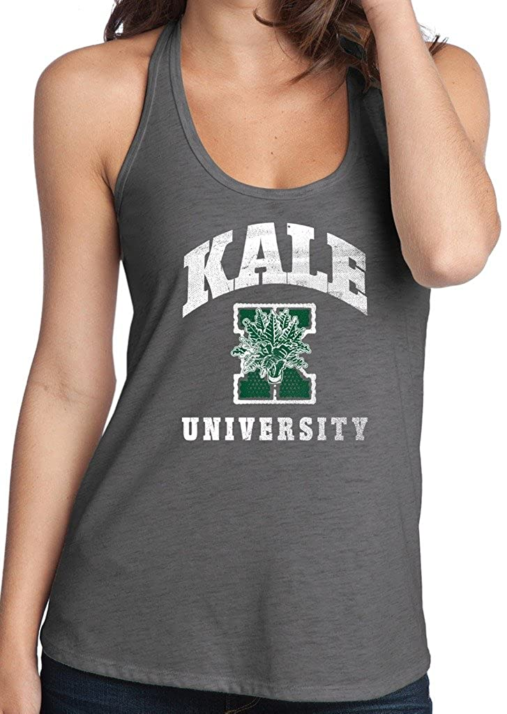 Yoga Clothing For You Ladies Kale University T-Back Tank Top