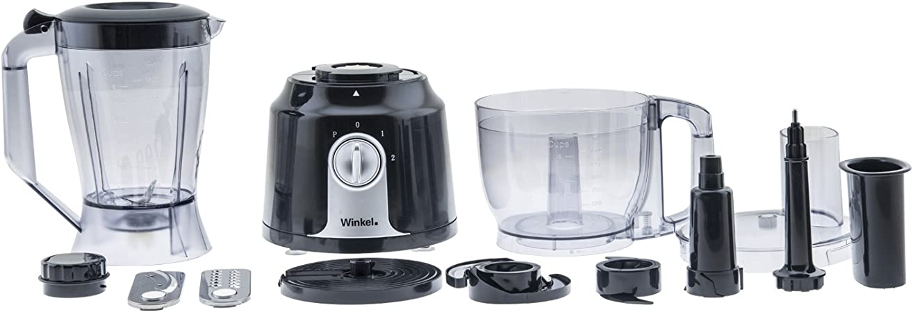 Winkel RX22 RX22-Procesador de Alimentos multifunción, 400 W, Negro: Amazon.es: Hogar
