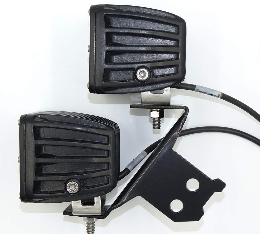 Heavy Dual A-Pillar LED Light Mount for RZR 1000//900 by Inner Demon Motorsports