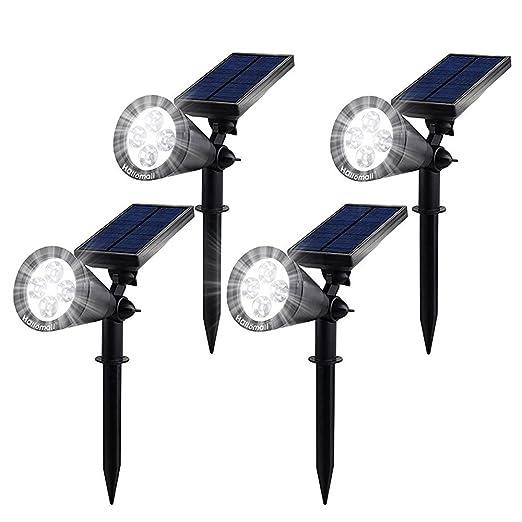 50 opinioni per Lampioni da Giardino led Energia Solare GrandBeing Illuminazione Giardino Luci