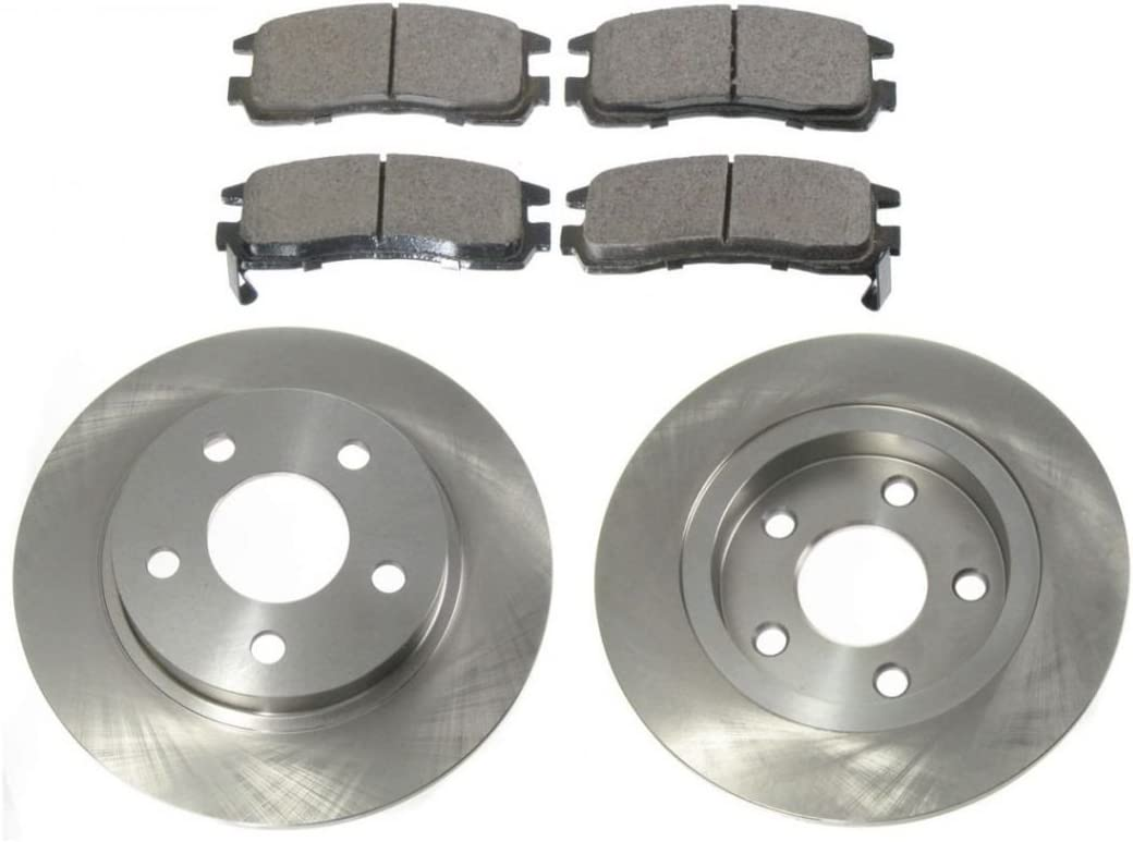 2002 Buick LeSabre w//16/'/' OE Whls Max Performance Ceramic Brake Pads F