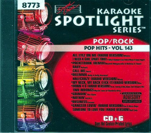 Sound Choice Karaoke Spotlight Series Pop Hits Vol.143 - 8773 (Spotlight Choice Sound Karaoke)