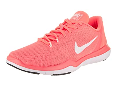 new product dbc67 7a8d7 Nike Women s Flex Supreme TR 5 Cross Trainer, Lava Glow White University red