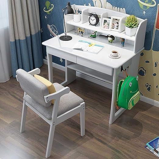 Sunferkyh Mesa para niños y sillas Infantil Escritorio Aprendizaje ...