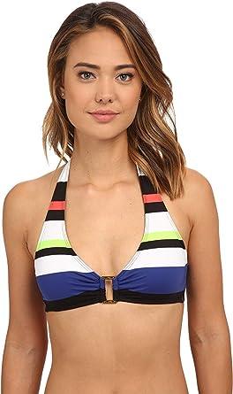 62a3bb71 Amazon.com: Lauren Ralph Lauren Women's Horizon Engineered Stripe ...