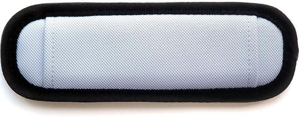 Burnoaa Straight Design Memory Foam Soft Shoulder Saver Pad, White