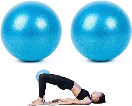 AOAVE - Pelota de yoga/bola de barrera/mini pelota de ejercicio, 2 ...