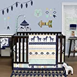 Indio 4 Piece Baby Crib Bedding Set by The Peanut Shell