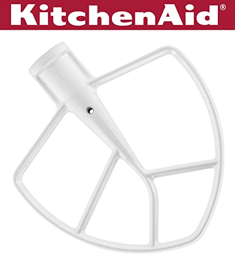 Amazon.com: KitchenAid KN256BBT pala batidora de 6-qt ...