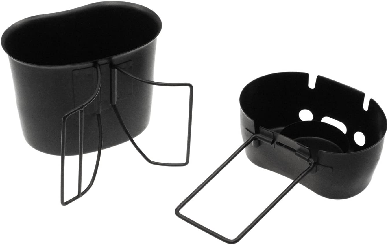 coated black with kidney shaped Canteen cup Bcb Cooking Kit for US Canteen