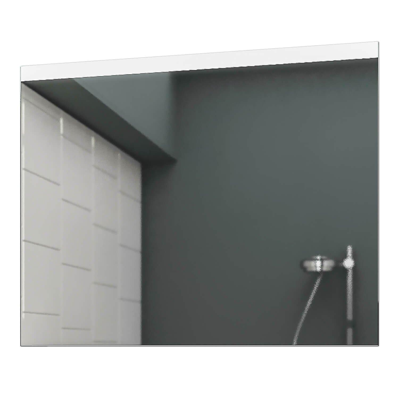 Concept2u LED Badspiegel Badezimmerspiegel Wandspiegel Bad Bad Bad Spiegel - Warmweiß 100 cm Breit x 80 cm Hoch Allegro Licht umlaufend 67d068