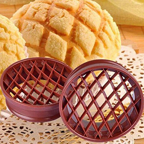 Biscuit Ornament Dog (JD Million shop Kitchen Lattice Press Pineapple Bun Mold Plastic Bread Cake Mould Biscuit Stamp Moulds Kitchen Pastry Baking Tools)