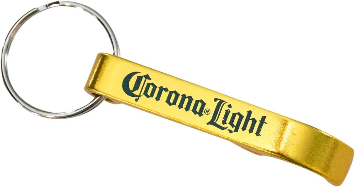 Corona Light Beverage Wrench Keychain Opener