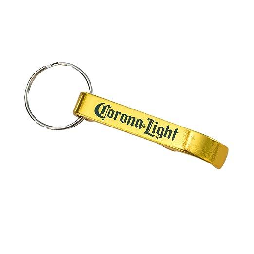 Corona luz bebidas llave abridor de llavero: Amazon.es: Hogar