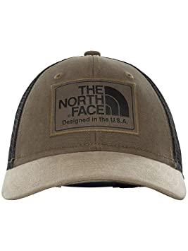 The North Face Y Mudder Trucker Gorra de camioner, Hombre, New Taupe Green, Talla única: Amazon.es: Deportes y aire libre