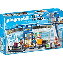 PLAYMOBIL Airport with Control Tower Building Set