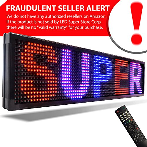 LED Super Store Signs 3 Color (RBP) 15