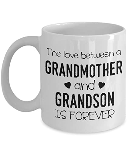 Amazon.com: The Love Between A Grandmother And Grandson Is ...