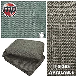 MP Essentials Weaved Supreme Rot Weatherproof Ground Covering Groundsheet Tent & Awning Carpet – GREEN & GREY