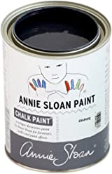 Chalk Paint (R) by Annie Sloan – Decorative Paint for Furniture, cabinets, Floors, Home Decor, and Accessories – Water-Based – Non-Toxic – Matte Finish (Quart - 32oz, Graphite)