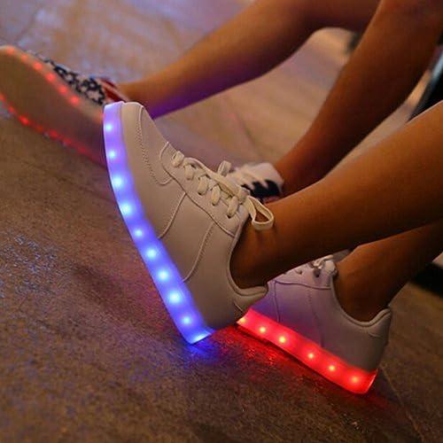 [Presente:pequeña toalla]c26 EU 36, Light LED Zapatos JUNGLES