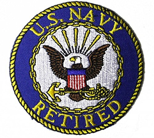 Us Navy Retired Patch - 1