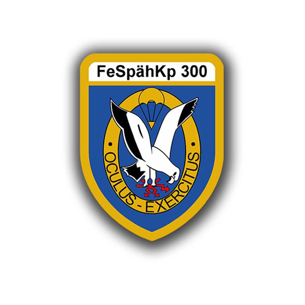 Aufkleber//Sticker Fernsp/ähkompanie 300 FeSp/ähKp Fernsp/äher Wappen 5x7cm A725