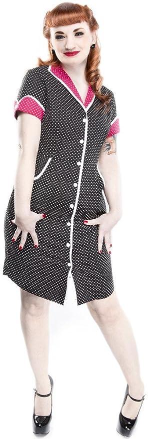 1950s Costumes  Peggy Sue Dress - Retro Polka Dot Day Dress $24.99 AT vintagedancer.com