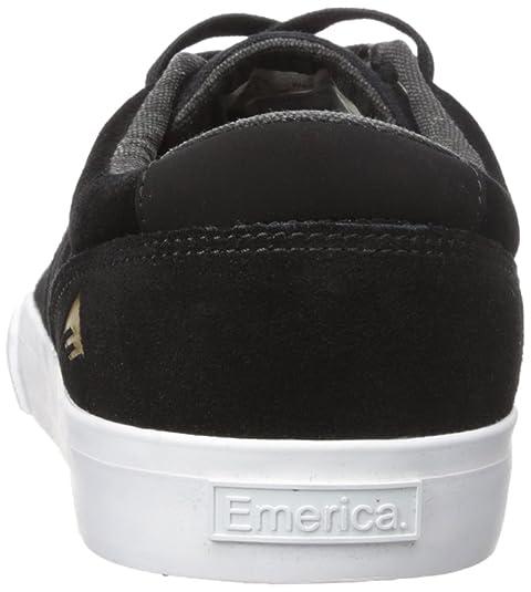 Emerica Provost Vulc Mince, Couleur: Noir / Gomme, Taille: 41 Eu / 8 Us / Fr 7