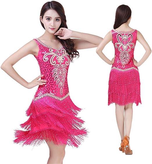 DRHYSFSA-Clothing Vestido de Baile Mujeres Ropa de Baile ...