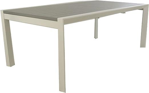 Edenjardi Mesa para Exterior Extensible de 200 cm a 300 cm ...