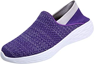 Bottes pour Dames d'hiver, Honestyi Mode Femmes Sneaker en Plein air Mesh-Tissu Respirant Casual Fond Mou de Sport Runing Respirant Chaussures Sports de Course Baskets