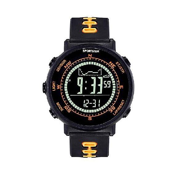Sportstar al aire libre Pioneer Smart reloj de pulsera con brújula Digital, altímetro, barómetro, termómetro, tiempo forecase: Amazon.es: Relojes